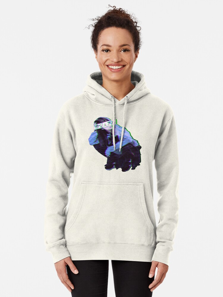 Comfortable Sad Japanese Anime Aesthetic Pullover Hoodie By Poserboy Redbubble