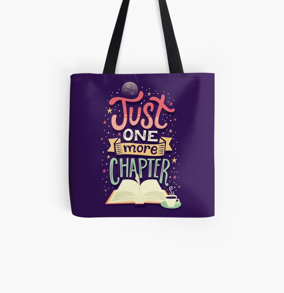 One more chapter All Over Print Tote Bag