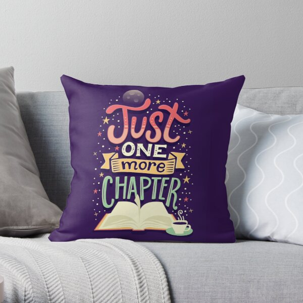 One more chapter Throw Pillow