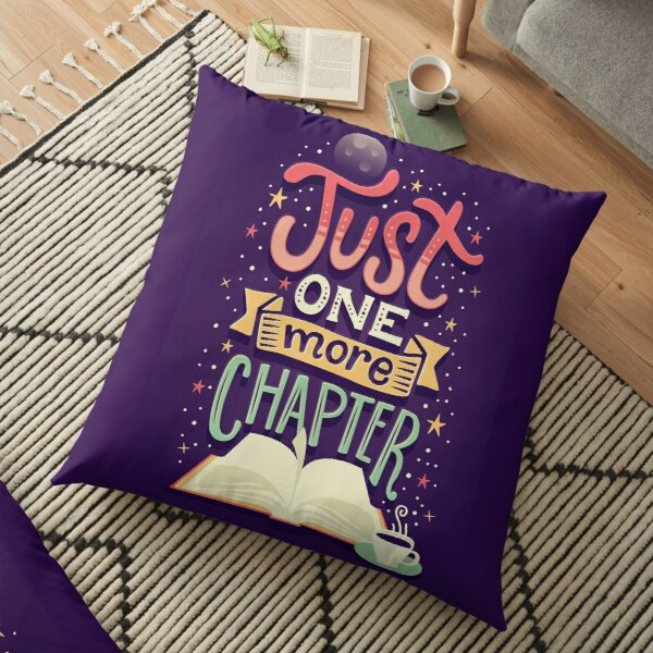 One more chapter Floor Pillow