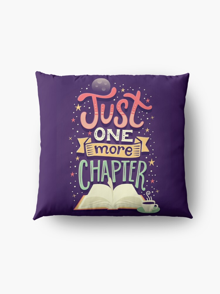 Alternate view of One more chapter Floor Pillow