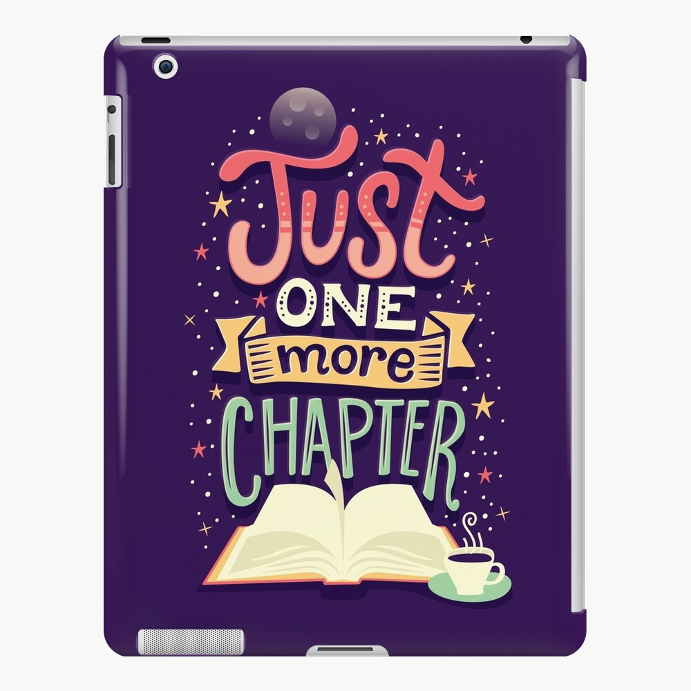 One more chapter iPad Case & Skin