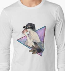 STOLEN - Sad Japanese Aesthetic  Long Sleeve T-Shirt