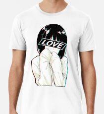 LOVE Sad Japanese Aesthetic  Men's Premium T-Shirt