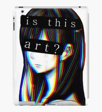 Is this Art Sad japanese aesthetic  iPad Case/Skin