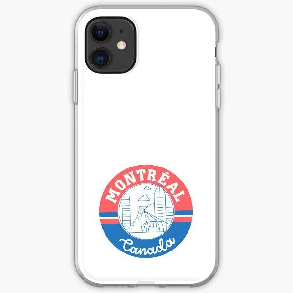 Montréal Canada Coque souple iPhone