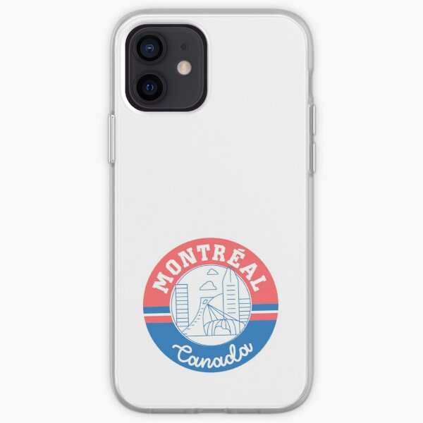 Montreal Canada iPhone Soft Case