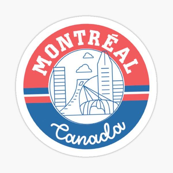 Montreal Canada Sticker