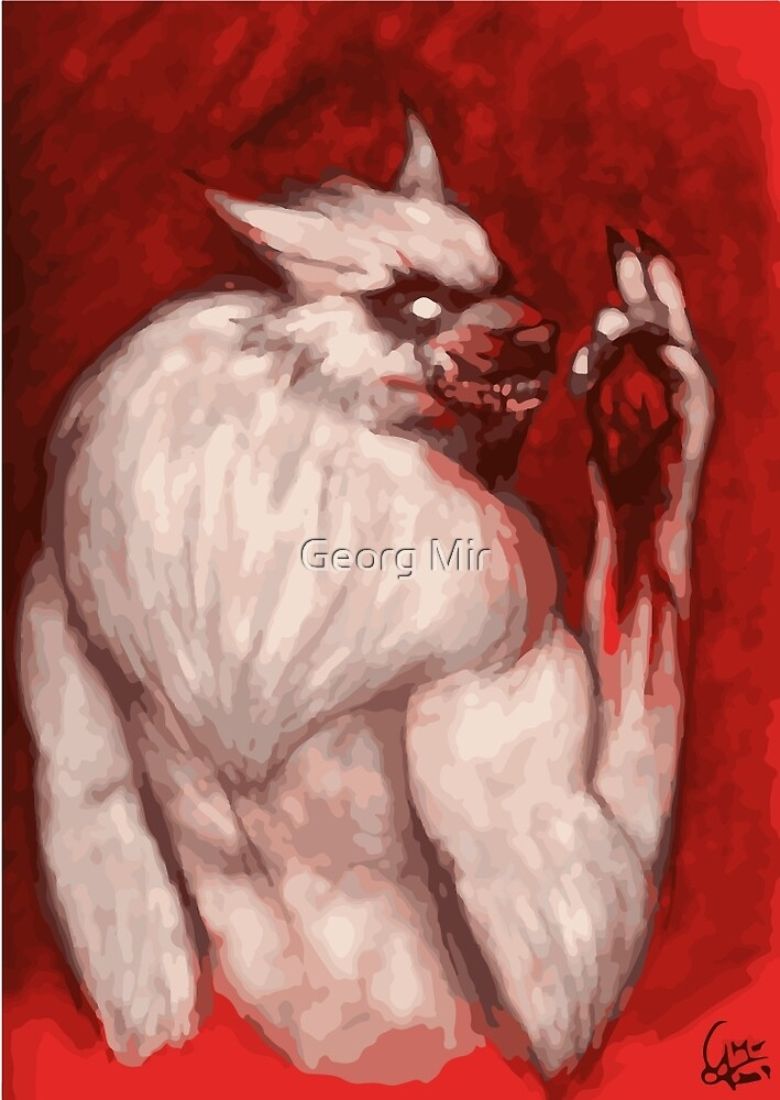 Werwolf Havara / Tasting Prey by Georg Mir
