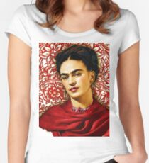 Frida Kahlo 2 Women's Fitted Scoop T-Shirt