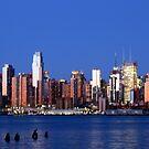 NYC at night by Dalmatinka