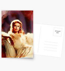 Elizabeth Montgomery, Hollywood-Legende Postkarten
