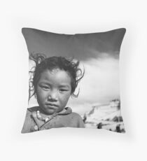 Tibetans Throw Pillow