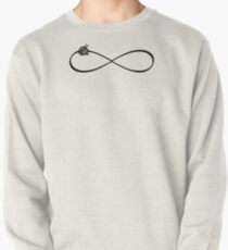 Infinity knit symbol / cute knitters gifts Pullover