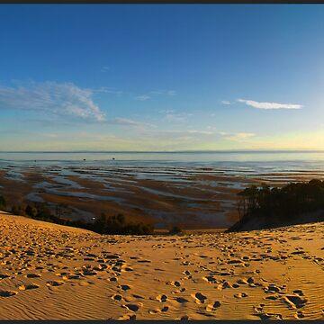Big  Sands panorama by AlexDu