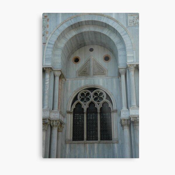 Detail der Basilika St. Markus, Venedig Metallbild