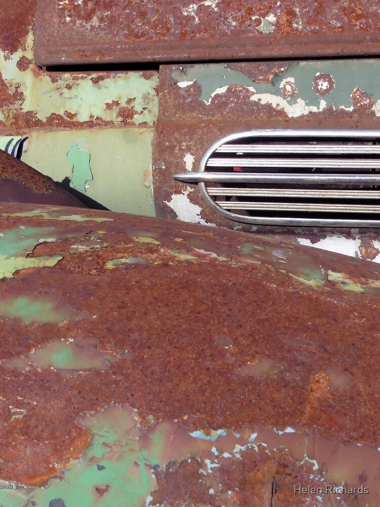 Green and Rust Car #4 by helen121