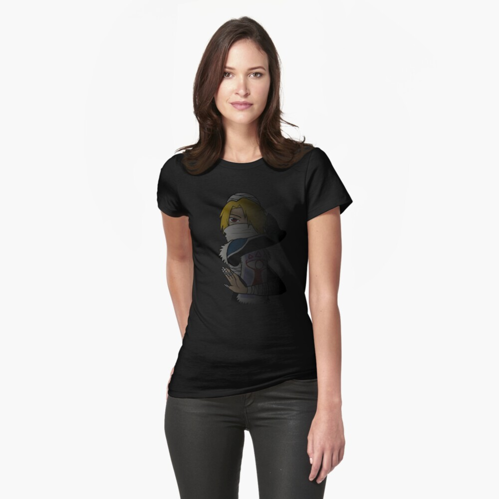 Zelda - Shadow Warrior Sheik Womens T-Shirt Front