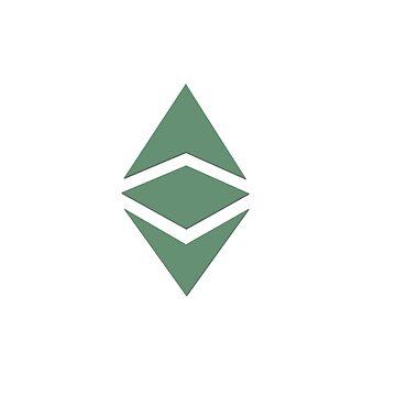 Ethereum Classic - Minimalist by HODLApparels