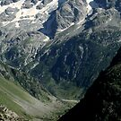 Hiking in the french Alps by CerridwenDessin