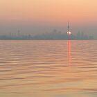 Spit Heat - Hot and Humid Sunrise in Toronto  by Georgia Mizuleva