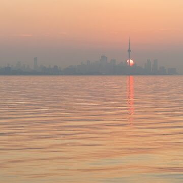 Spit Heat - Hot and Humid Sunrise in Toronto  by GeorgiaM