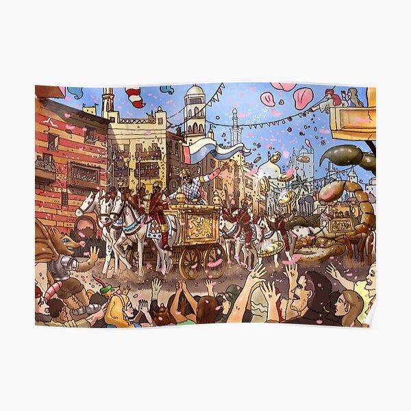 Mansa Musa Enters Mecca Poster