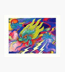 Stormie 1 Art Print