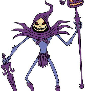 Jack Skeletor by I-gor