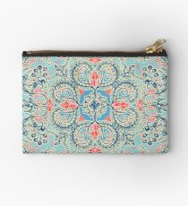 Gypsy Floral in Red & Blue Studio Pouch