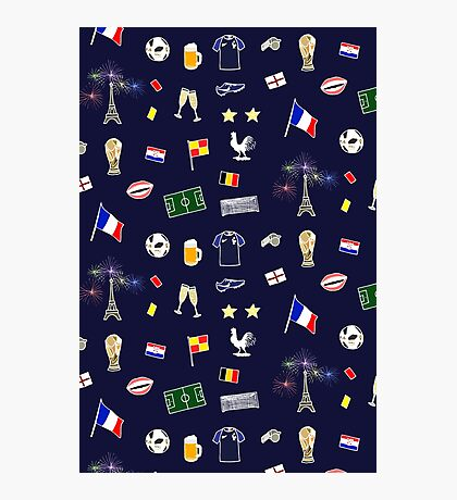 Football pattern Impression photo
