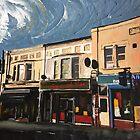 Walthamstow, Row of Shops by Andrew Reid Wildman