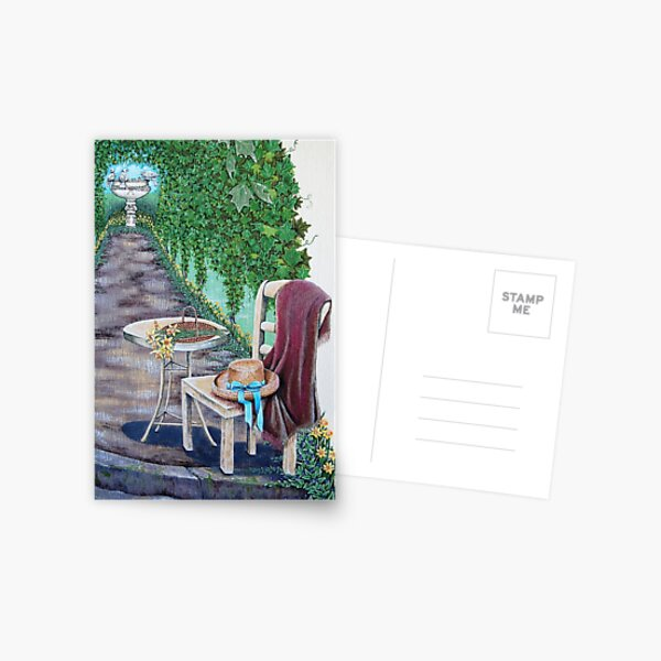 Cottage Trellis Postcard