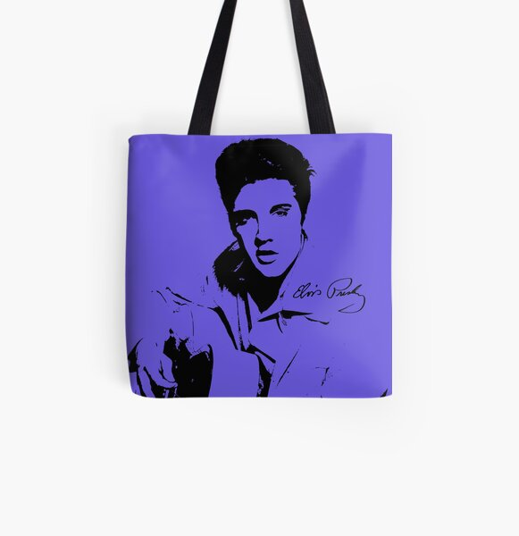 Elvis Presley   All Over Print Tote Bag