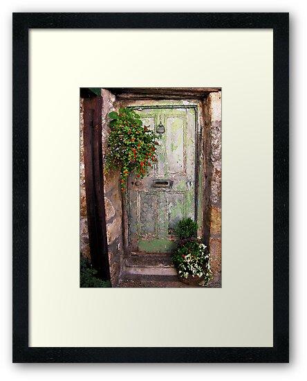 Green Door by Mike Honour
