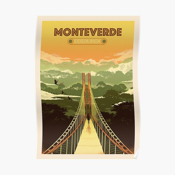 Monteverde Costa Rica Poster