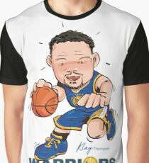 Klay Thompson - Golden State Warriors Graphic T-Shirt