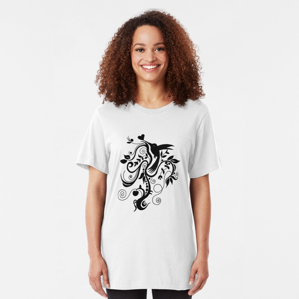 Spiral Bliss Tee Slim Fit T-Shirt
