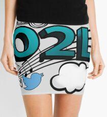 O2L FOREVER GRAPHIC  Mini Skirt