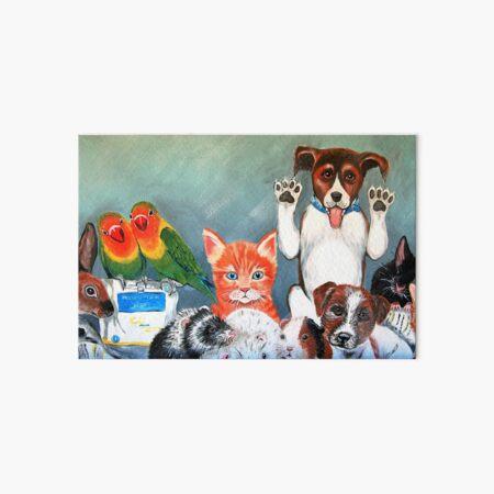 Furry Friends Art Board Print