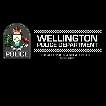 Wellington Police Department - Inspired by Wellington Paranormal by WonkyRobot