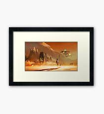 'Emergency Landing' Framed Print