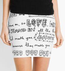 Variation & Diversity Mini Skirt