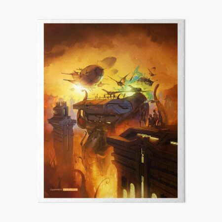 'Rooftop Escape' Art Board Print