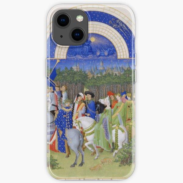 Les Très Riches Heures du duc de Berry 15th Century by Frères de Limbourg iPhone Soft Case