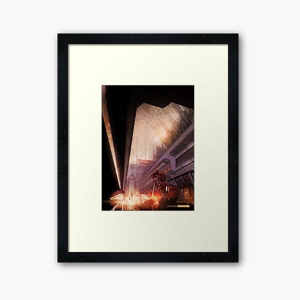 'The Janitor' Framed Art Print