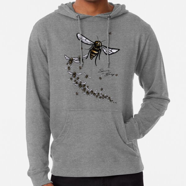 Save the Bees Lightweight Hoodie