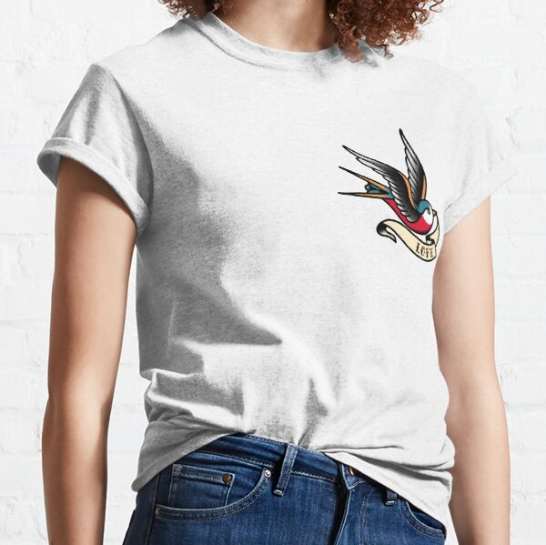 Traditional Swallow - Love Classic T-Shirt