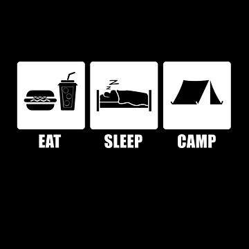 Eat Sleep CAMP  by CarlosV