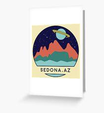 Sedona Arizona Nature Space Greeting Card